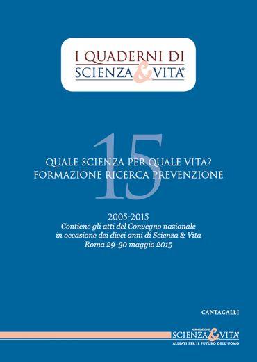 I Quaderni di Scienza & Vita 15 ePub