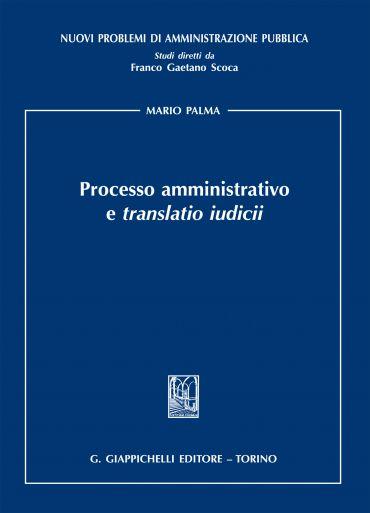 Processo amministrativo e translatio iudicii ePub