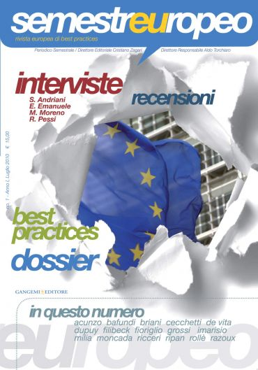 Semestre Europeo n. 1 - Anno 1, Luglio 2010