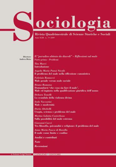 Sociologia n.3/2009