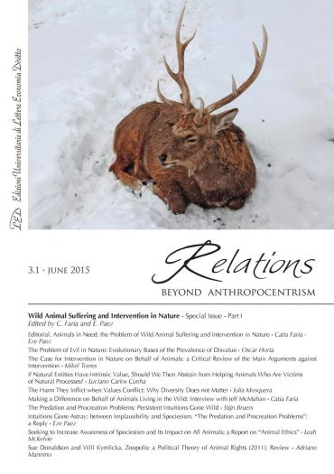 Relations. Beyond Anthropocentrism, 3.1 - June 2015