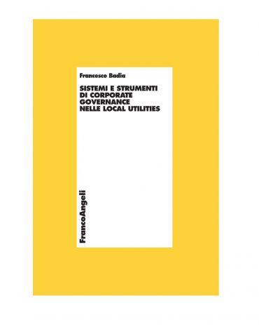 Sistemi e strumenti di corporate governance nelle local utilitie
