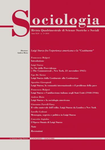 Sociologia n.2/2010
