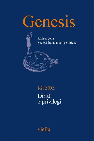 Genesis. Rivista della Società italiana delle storiche (2002) Vo
