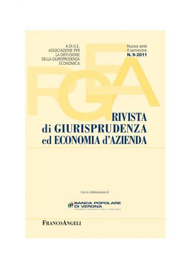 Rivista di giurisprudenza ed economia d'azienda n. 9 - 2011