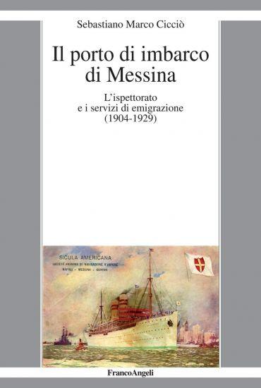 Il porto di imbarco di Messina.