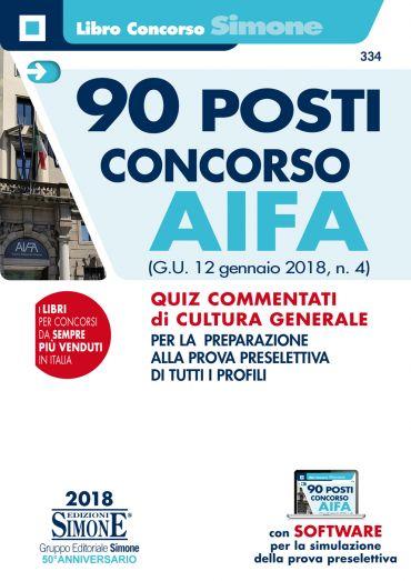 90 posti Concorso AIFA