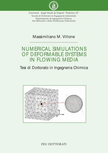 Numerical simulations of deformable systems in flowing media