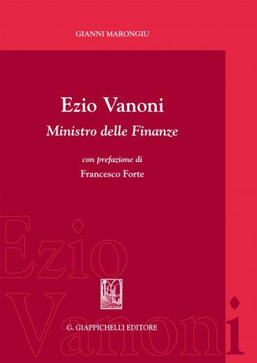 Ezio Vanoni ministro delle finanze ePub