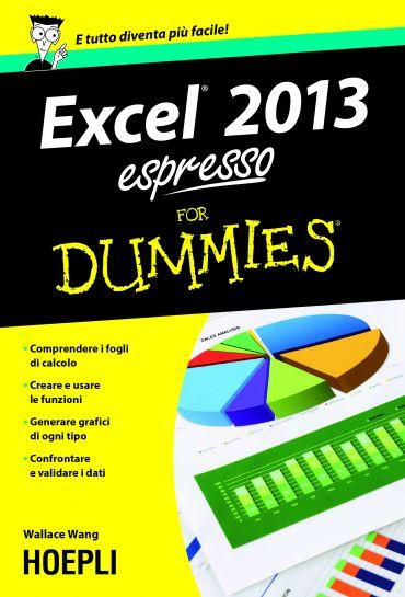 Excel 2013 espresso For Dummies ePub