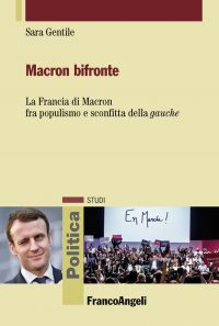 Macron bifronte