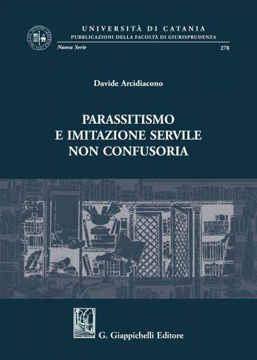 Parassitismo e imitazione servile non confusoria ePub