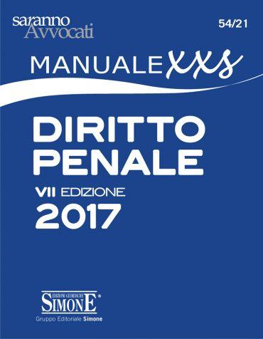 Manuale XXS di Diritto Penale (FORMATO