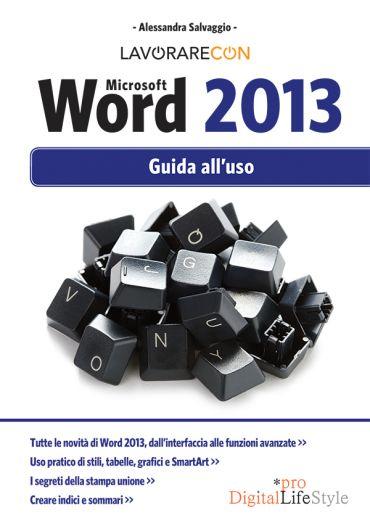 Lavorare con Microsoft Word 2013 ePub