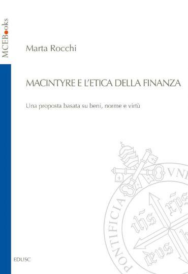 MacIntyre e l'etica della finanza ePub