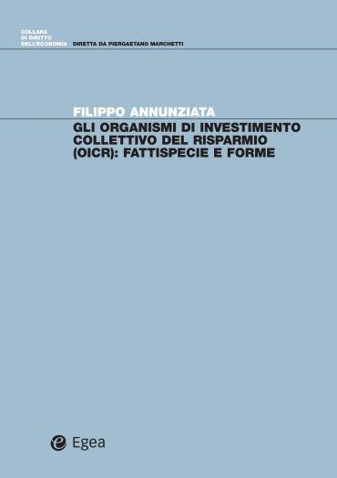 Gli organismi di investimento collettivo del risparmio (OICR)