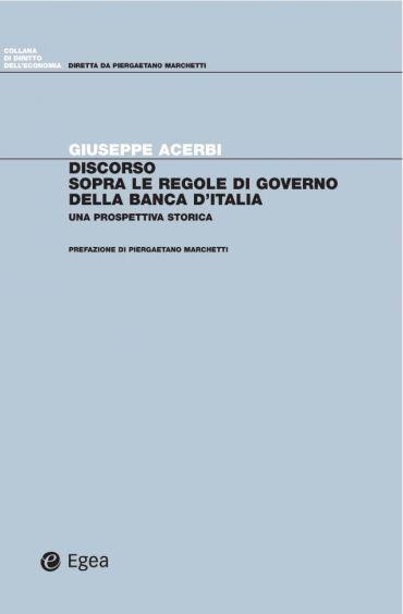 Discorso sopra le regole di governo della Banca d'italia ePub