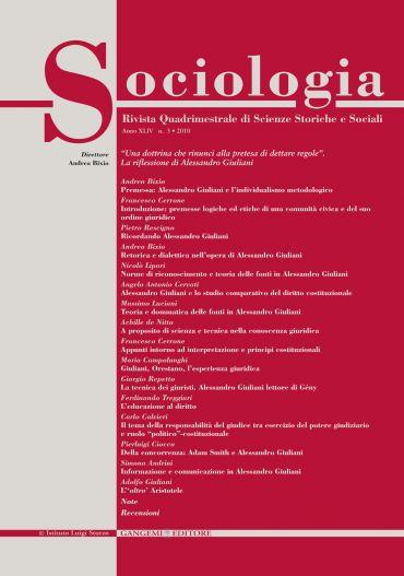 Sociologia n. 3/2010