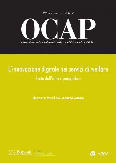 OCAP 1.2019. L'innovazione digitale nei servizi di welfare