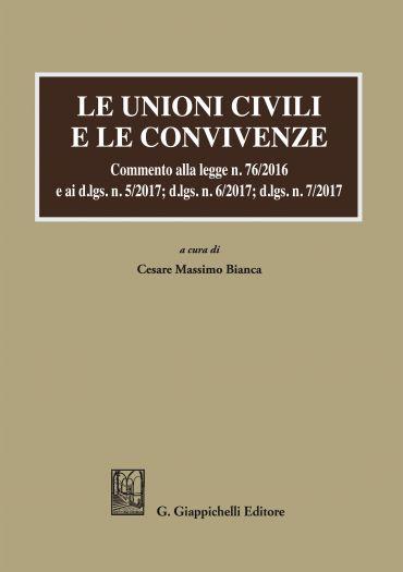 Le unioni civili e le convivenze