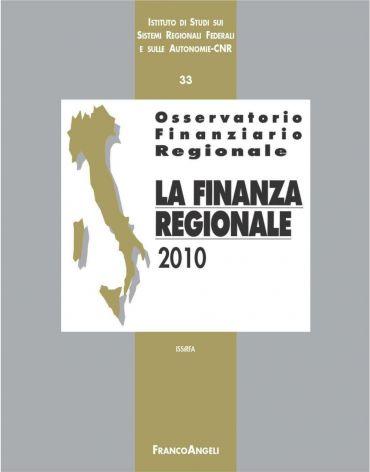 Osservatorio finanziario regionale/33. La finanza regionale 2010