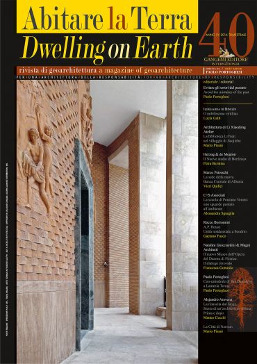Abitare la Terra n.40/2016 – Dwelling on Earth