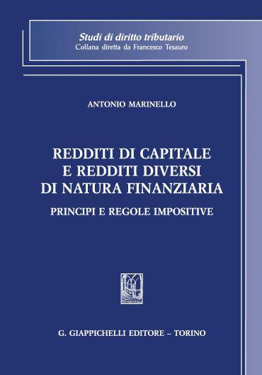 Redditi di capitale e redditi diversi di natura finanziaria