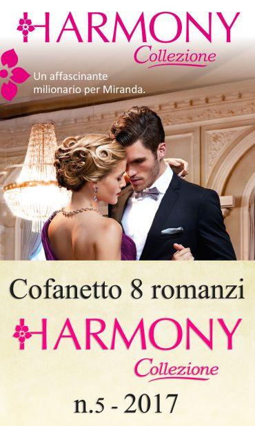Cofanetto 8 Harmony Collezione n.5/2017 ePub