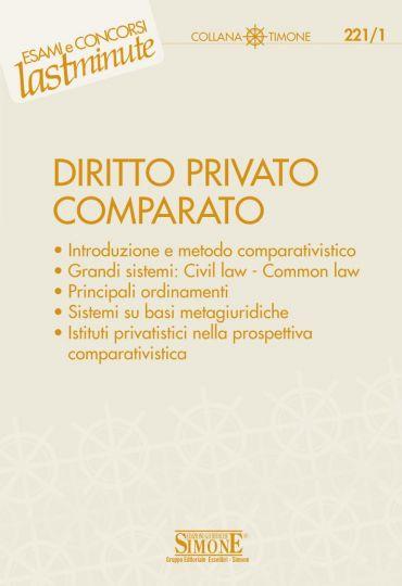 Elementi di Diritto Privato Comparato