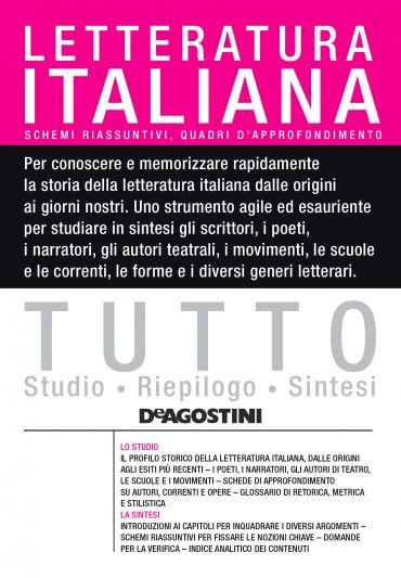 TUTTO - Letteratura italiana ePub
