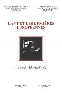 Kant et les Lumières européennes