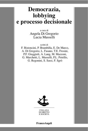 Democrazia, lobbying e processo decisionale ePub