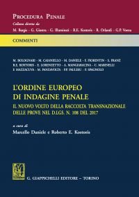 L'ordine europeo di indagine penale