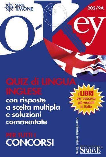 Quiz di Lingua Inglese con risposte a scelta multipla e soluzion