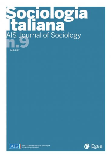 Sociologia Italiana - AIS Journal of Sociology n. 9