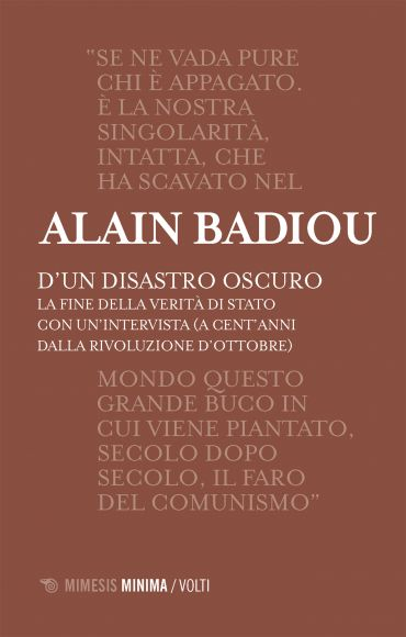 D'un disastro oscuro ePub