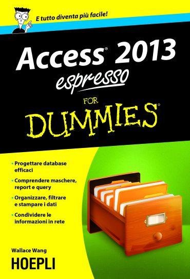 Access 2013 espresso For Dummies ePub