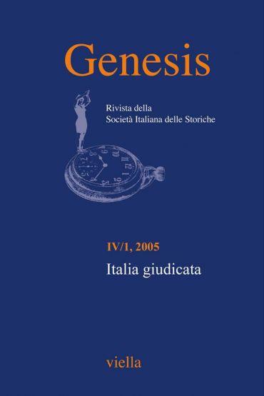 Genesis. Rivista della Società italiana delle storiche (2005) Vo