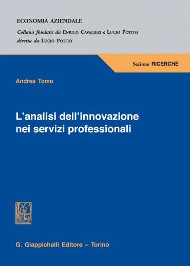 L'analisi dell'innovazione nei servizi professionali ePub