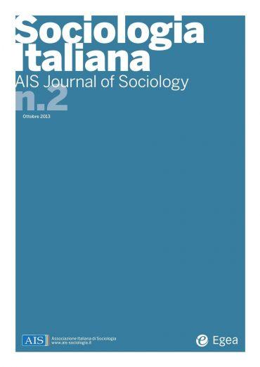 Sociologia Italiana - AIS Journal of Sociology n. 2