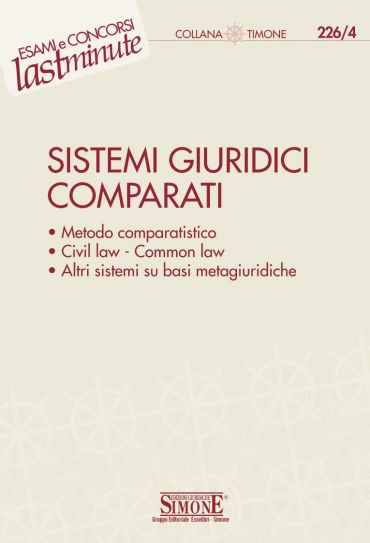 Elementi di Sistemi Giuridici Comparati
