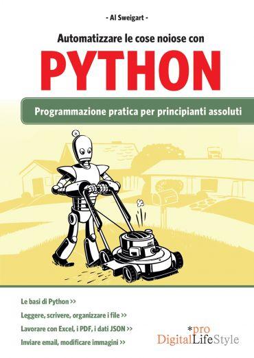 Automatizzare le cose noiose con Python ePub