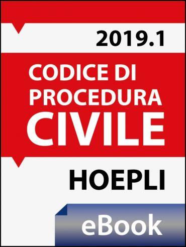 Codice di procedura civile 2019 ePub