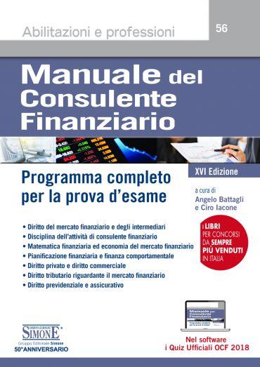 Manuale del Consulente Finanziario