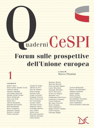 Forum sulle prospettive dell'Unione europea ePub