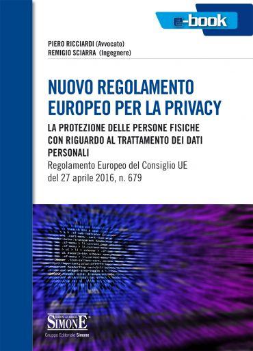 Nuovo regolamento Europeo per la privacy ePub