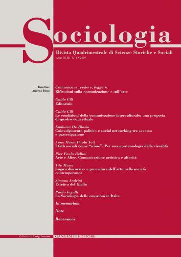 Sociologia n. 1/2009
