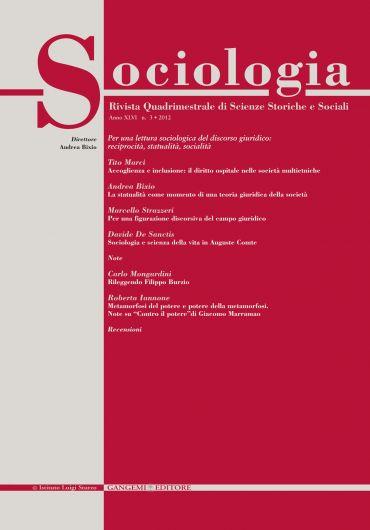 Sociologia n. 3/2012