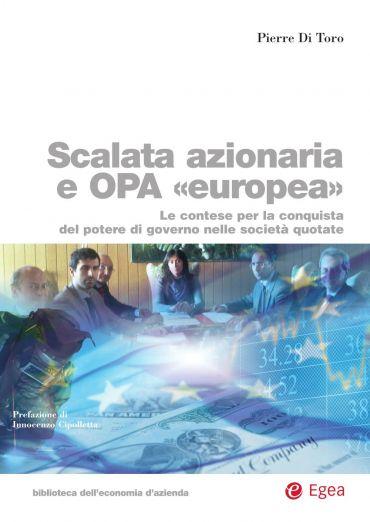 Scalata azionaria e OPA europea