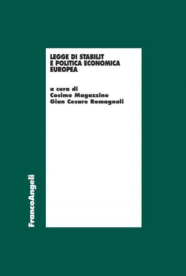 Legge di stabilità e politica economica europea